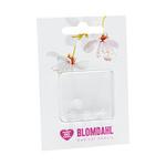 Skin friendly earring backs for medical plastic earrings