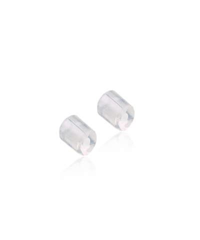 Skin friendly stoppers for ear pendants and safety ear hooks