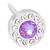 Crystal/shiny violet